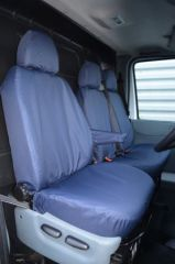 Tailored Front Row Seat Covers in Navy Blue (1+2)