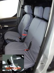 Tailored Front Seat Covers in Grey Camo (1+2)