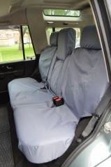 Tailored Mid Row Seat Covers in Grey w/Armrests (1+2)