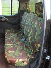 Tailored Triple Seat Covers in Green Camo