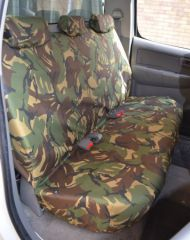 Tailored Rear Seat Covers in Green Camo (1+2)