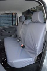 Tailored Rear Bench Seat Cover in Grey