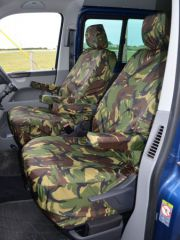 Tailored Front Seat Covers in Green Camo (1+1)