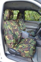Tailored Green Camo Seat Covers (Front & Rear Bundle))