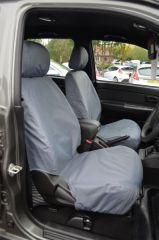 Tailored Grey Seat Covers (Front & Rear Bundle)