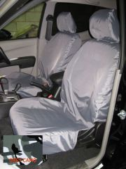 Tailored Front & Rear Seat Covers Bundle in Grey Camo