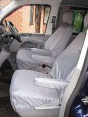 Tailored 8 Seater Seat Covers in Grey (Shuttle)