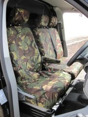 Tailored 9 Seater Seat Covers in Green Camo (Shuttle)