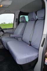 Tailored 9 Seater Seat Covers in Grey (Shuttle)