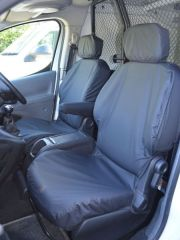 Tailored Black Seat Covers (Front & Rear Bundle)
