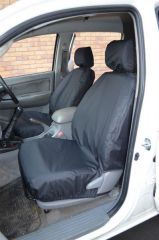 Tailored Black  Front Seat Covers (Front & Rear Bundle)