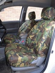 Tailored Green Camo Seat Covers (Front & Rear Bundle)