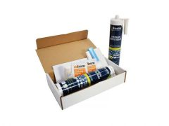 Bostik Primerless Glazing Adhesive Twin Cartridge Kit