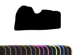 Classic Carpet Floor Mat with Colour Edge Trim (1pc)