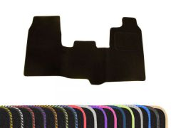 Tailored Carpet Floor Mat with Colour Edge Trim (1pc)