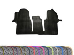 Super-Duty 5mm Rubber Floor Mat with Colour Trim (1pc)