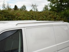 Polished Roof Bars (LWB)