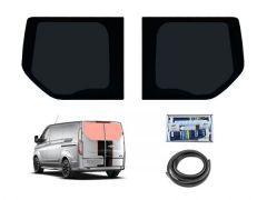Rear Door Dark Tint Windows & Fitting Kit