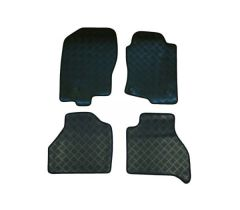 Tailored Rubber Floor Mats (4pc)