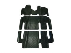 Tailored Heavy-Duty Rubber Floor Mats (3pc)