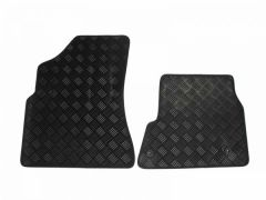 Tailored Heavy-Duty Rubber Floor Mats (2pc)