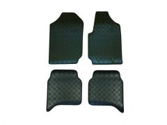 Super-Duty 5mm Rubber Floor Mats (4pc)