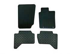 Tailored Heavy-Duty Rubber Floor Mats (4pc)