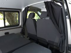 Black Out Cab Divider Curtain Kit