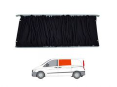 Left Hand Sliding Door Black Out Curtain Kit