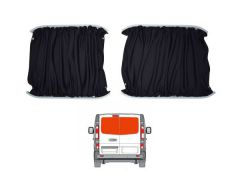 Twin Rear Doors Black Out Curtain Kit