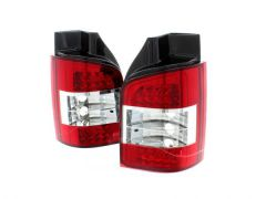 LED Clear Lens Rear Lamps (2pc)