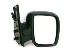 RH Single Glass Black Manual Cable Door Mirror (1pc)