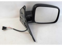 Right Hand Black Electric Heated Door Mirror (1pc)