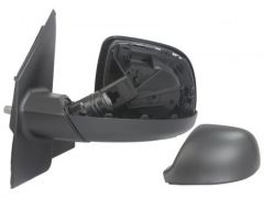 Left Hand Black Manual Door Mirror (1pc)