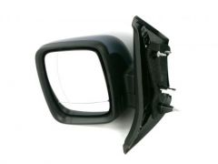Left Hand Primed Electric Heated Door Mirror (1pc)