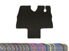 Heavy-Duty 3mm Rubber Floor Mat with Colour Trim (1pc)