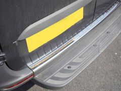 Chrome Rear Bumper Sill Cover