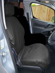 Tailored Driver's Seat Cover in Black