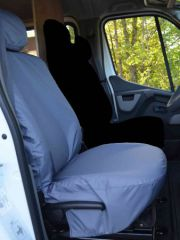 Tailored Driver's Seat Cover in Grey