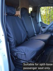 Tailored Front Row Fold Pass Seat Covers in Black (1+2)