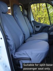Tailored Front Row Fold Pass Seat Covers in Grey (1+2)