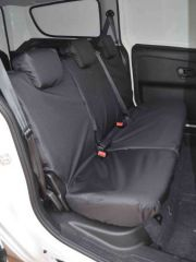 Tailored Rear Row Bench Seat Covers in Black (1+2)