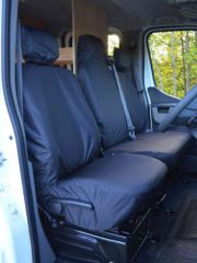 Tailored Front Row Seat Covers in Black (1+2)