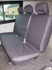 Tailored Rear Triple Bench Seat Cover in Beige