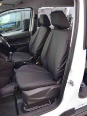 Tailored Front Row Seat Covers in Black w/Armrests (1+1)