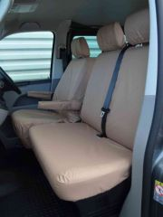 Tailored Front Row Seat Covers in Beige (1+1)