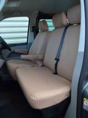 Tailored Front Row Seat Covers in Beige (1+2)