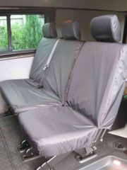 Tailored Mid Row Triple Individual Seat Covers in Black