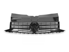 Gloss Black Front Grille