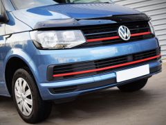 Red Front Grille & Lower Grille Trim